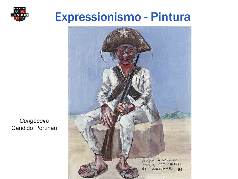Cangaceiro Candido Portinari Expressionismo - Pintura