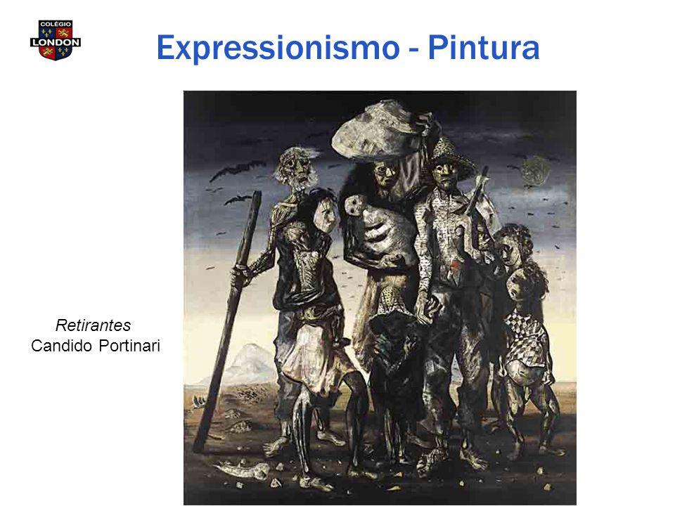 Expressionismo - Pintura Retirantes Candido Portinari