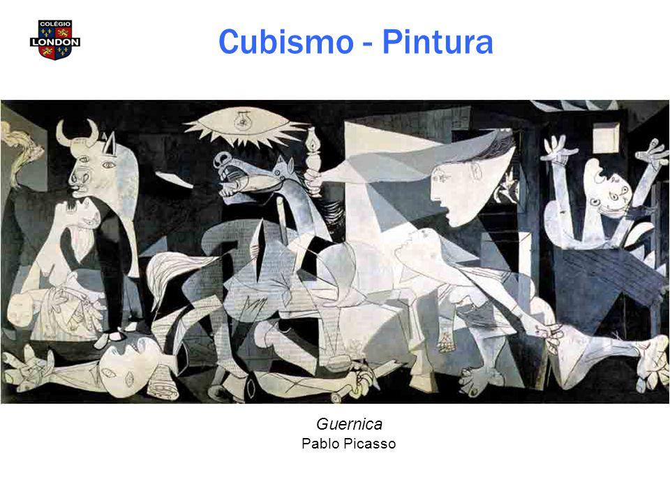 Guernica Pablo Picasso Cubismo - Pintura