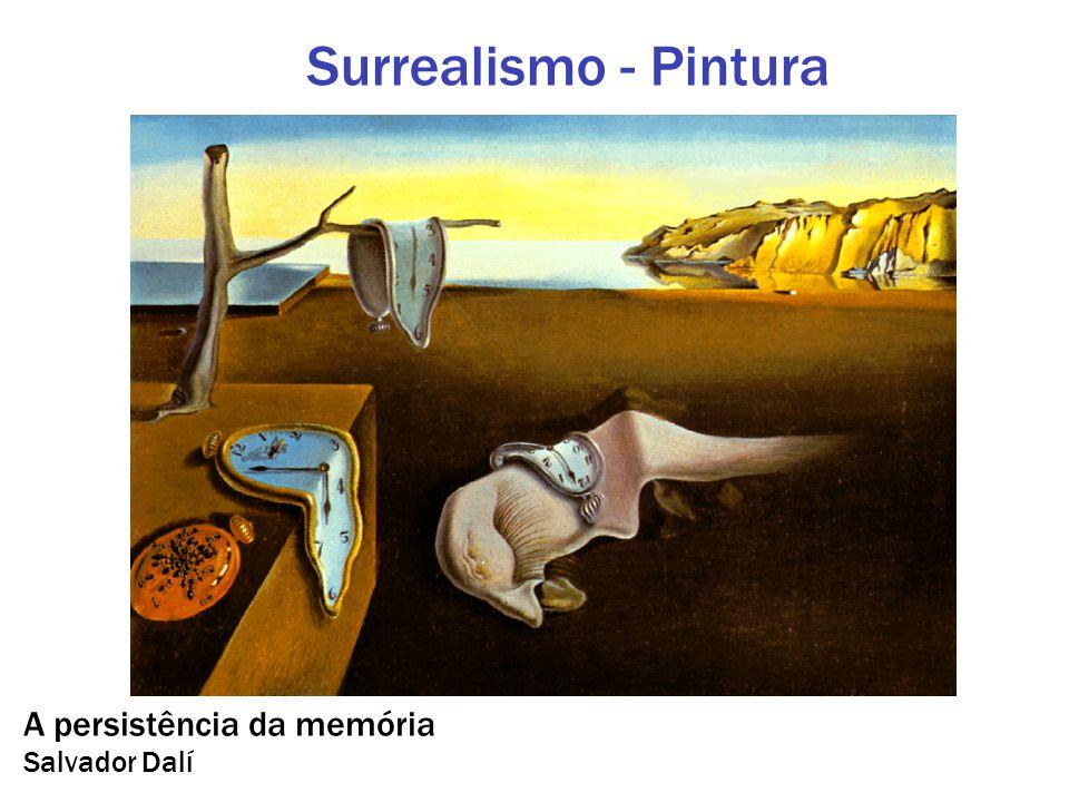 A persistência da memória Salvador Dalí Surrealismo - Pintura