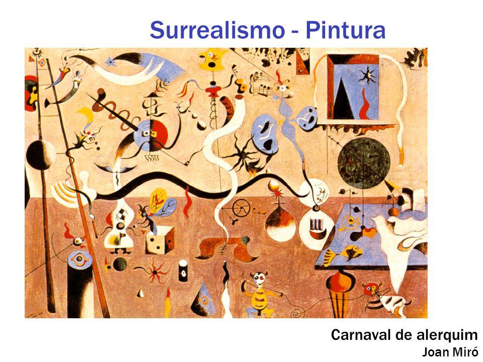 Carnaval de alerquim Joan Miró Surrealismo - Pintura