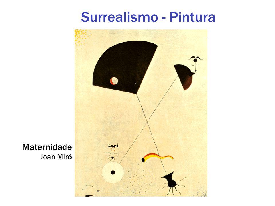 Maternidade Joan Miró Surrealismo - Pintura