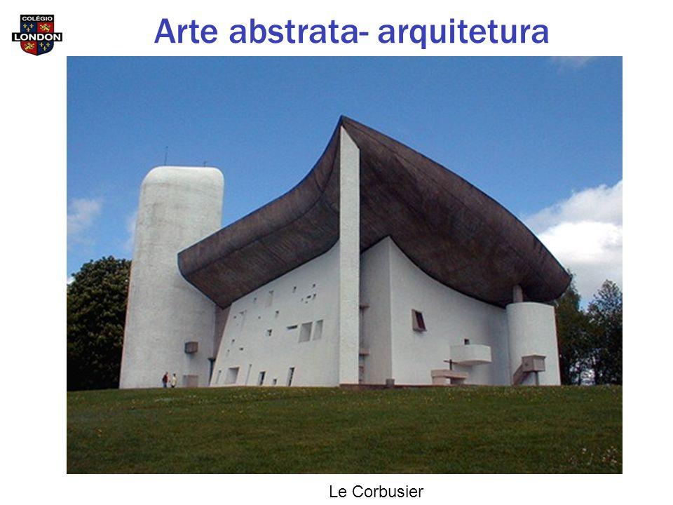 Le Corbusier Arte abstrata- arquitetura