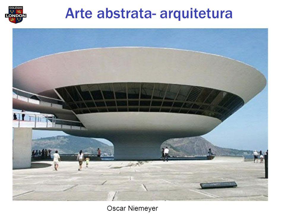 Oscar Niemeyer Arte abstrata- arquitetura