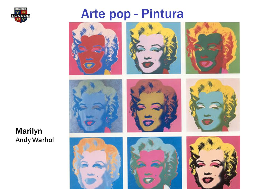Marilyn Andy Warhol Arte pop - Pintura
