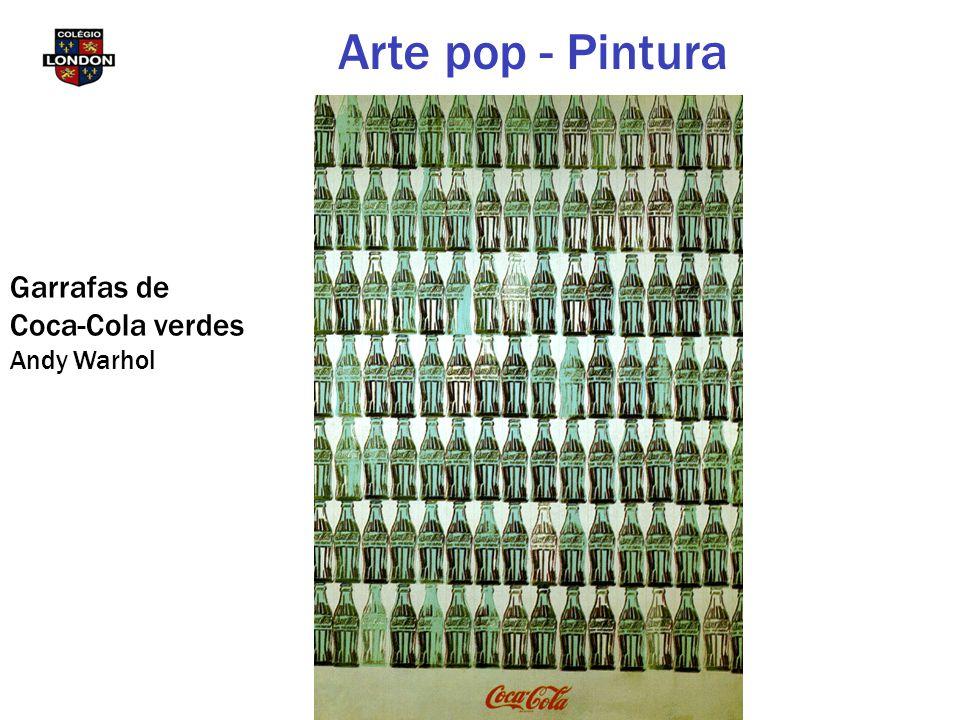Garrafas de Coca-Cola verdes Andy Warhol Arte pop - Pintura