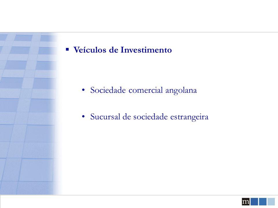 Principais Tipos de Sociedades Comerciais  Sociedade por Quotas (Lda.) Estrutura societária simplificada adequada para gerir negócios de pequena e média dimensão  Sociedade Anónima (S.A.) Adequada para investimentos de montante avultado Número elevado de accionistas Anonimato dos accionistas Estrutura organica complexa
