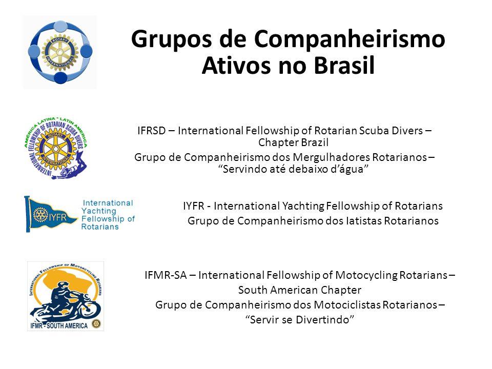 """IFRSD – International Fellowship of Rotarian Scuba Divers – Chapter Brazil Grupo de Companheirismo dos Mergulhadores Rotarianos – """"Servindo até debaix"""