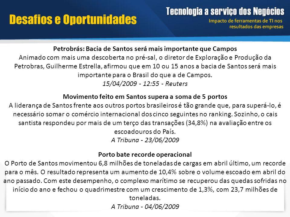 Petrobrás: Bacia de Santos será mais importante que Campos Animado com mais uma descoberta no pré-sal, o diretor de Exploração e Produção da Petrobras