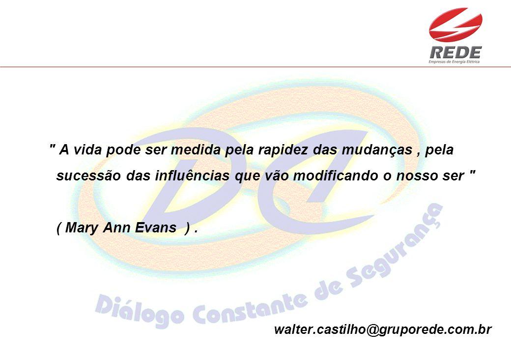 A vida pode ser medida pela rapidez das mudanças, pela sucessão das influências que vão modificando o nosso ser ( Mary Ann Evans ).