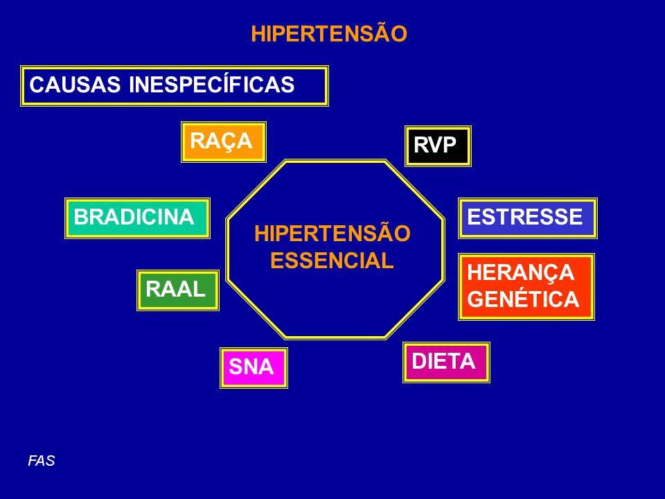 INIBIDORES DA ENZIMA CONVERSORA (IECA) captopril (Capoten) enalapril (Renitec) ramipril (Triatec) fosinipril (Monopril) benzaperil (Lotensin)......