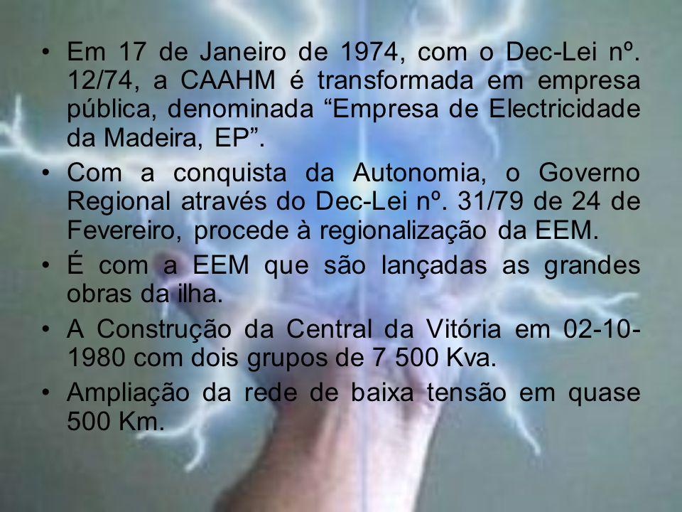 Em 17 de Janeiro de 1974, com o Dec-Lei nº.