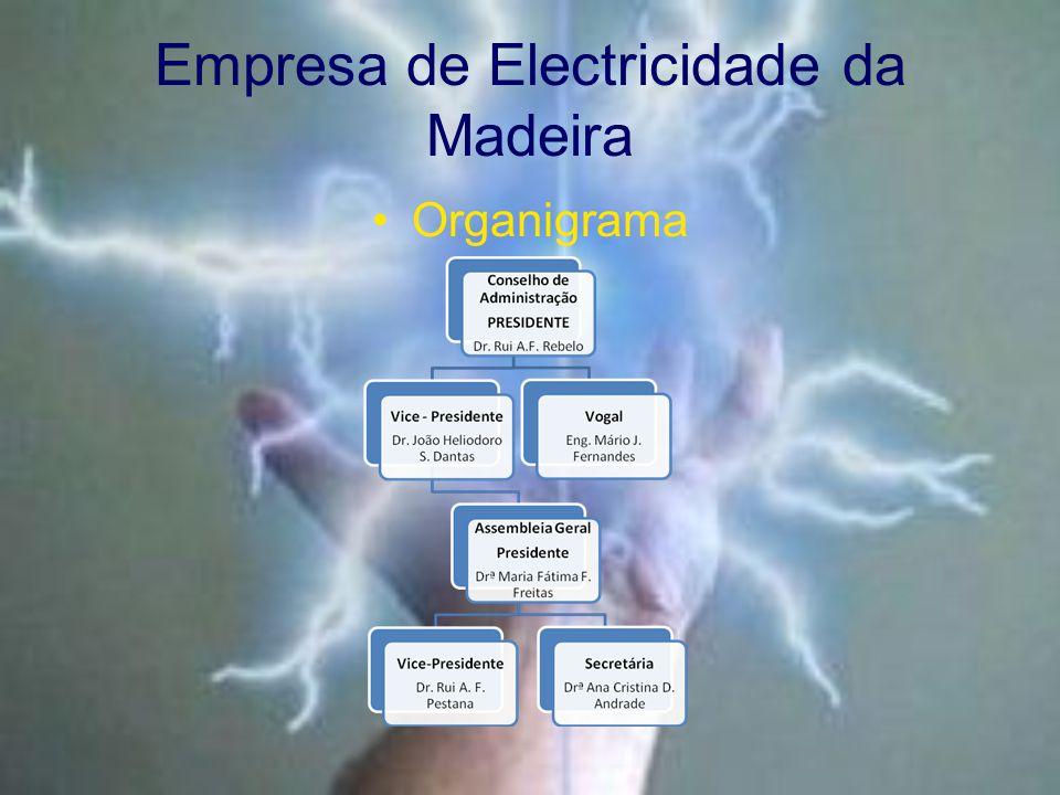 Empresa de Electricidade da Madeira Organigrama