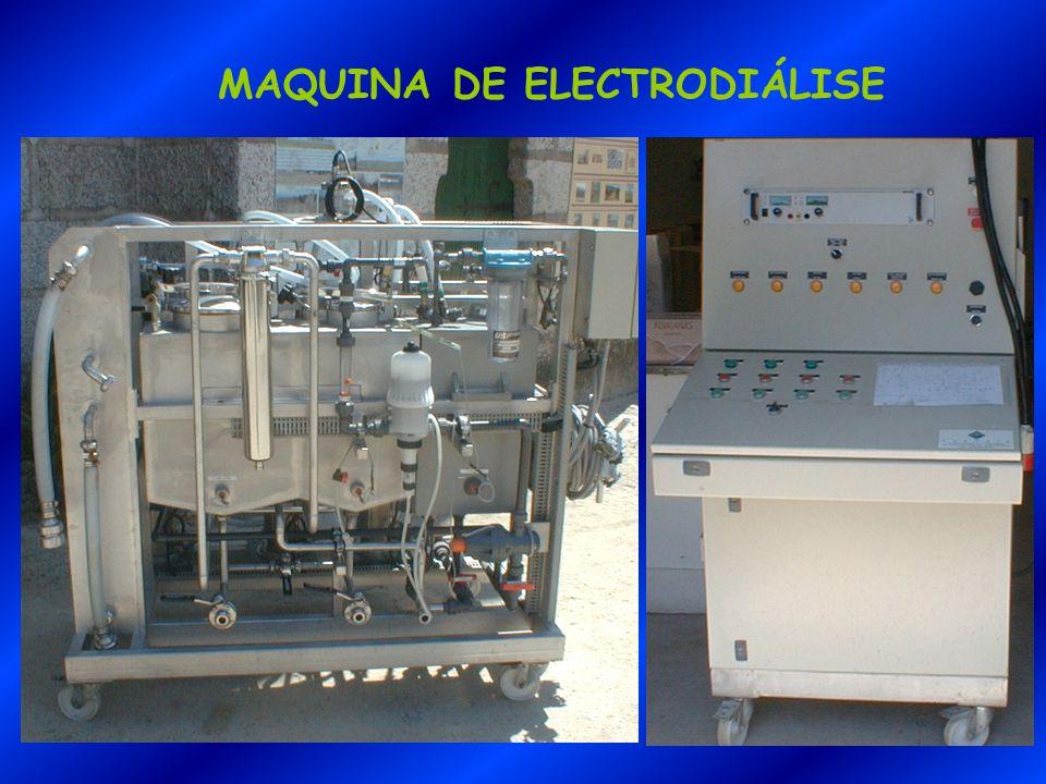 MAQUINA DE ELECTRODIÁLISE