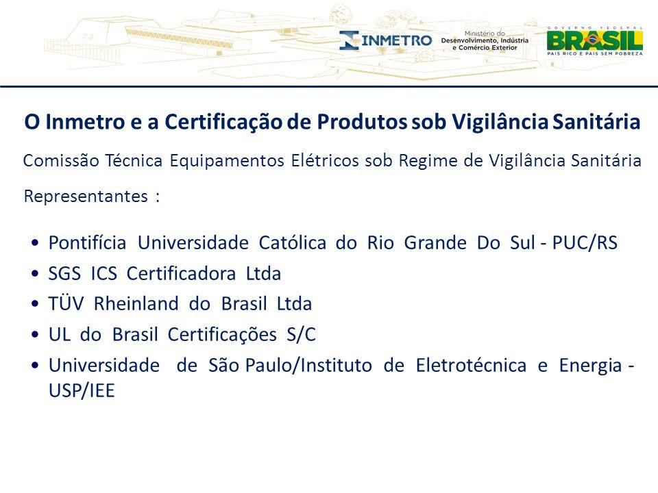 O Inmetro e a Certificação de Produtos sob Vigilância Sanitária Pontifícia Universidade Católica do Rio Grande Do Sul - PUC/RS SGS ICS Certificadora L