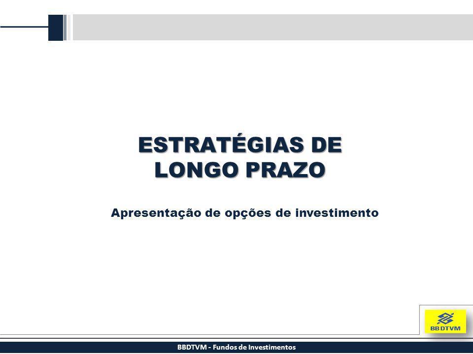 BBDTVM - Fundos de Investimentos ESTRATÉGIAS DE LONGO PRAZO Apresentação de opções de investimento