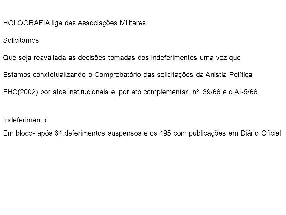 AMFAB direito social – convida: PALESTRA DE ANISTIA POLÍTICA(2002) PALESTRANTE EXMO.