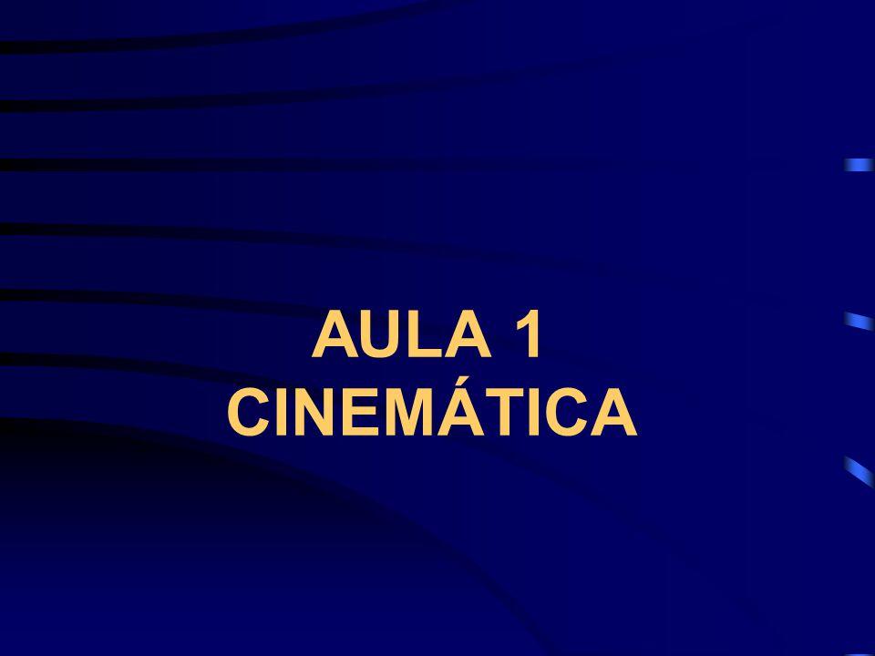 AULA 1 CINEMÁTICA