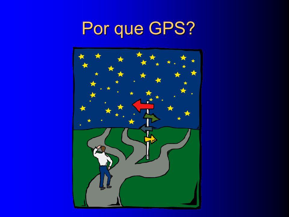Por que GPS?