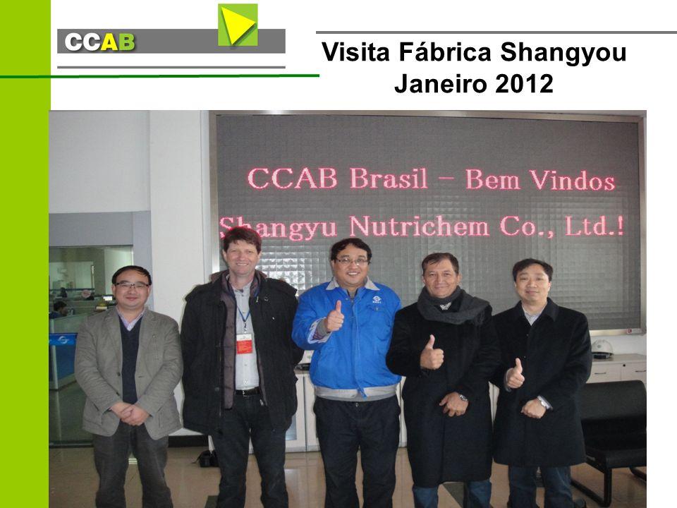 Visita Fábrica Shangyou Janeiro 2012