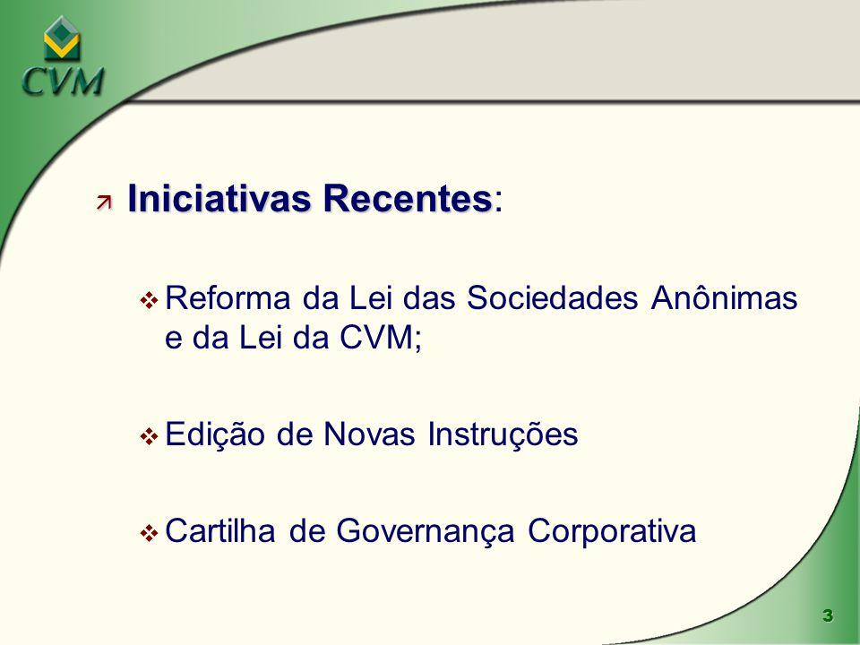 4 ä Reforma da Lei das S.A.