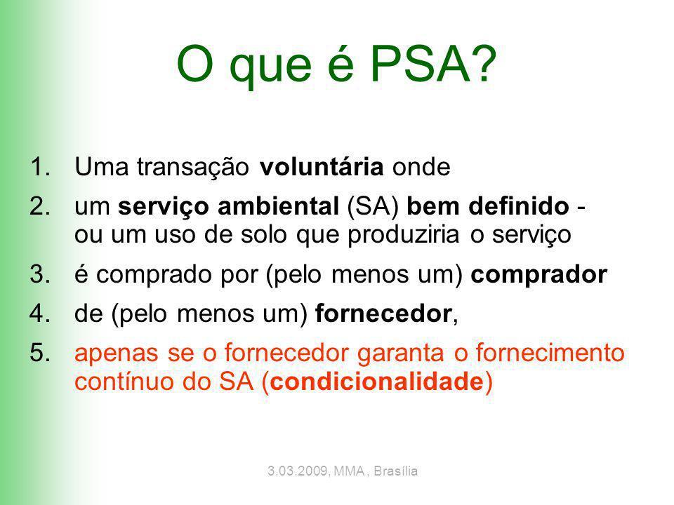 Conteúdo 1.PSA: Teoria e precondições 2.Metodologia 3.Resultados 4.Conclusões e discussão