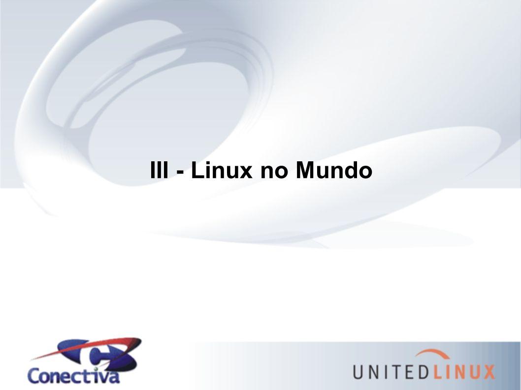 III - Linux no Mundo