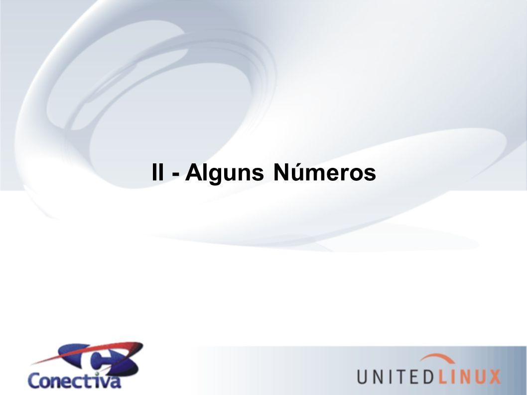 II - Alguns Números