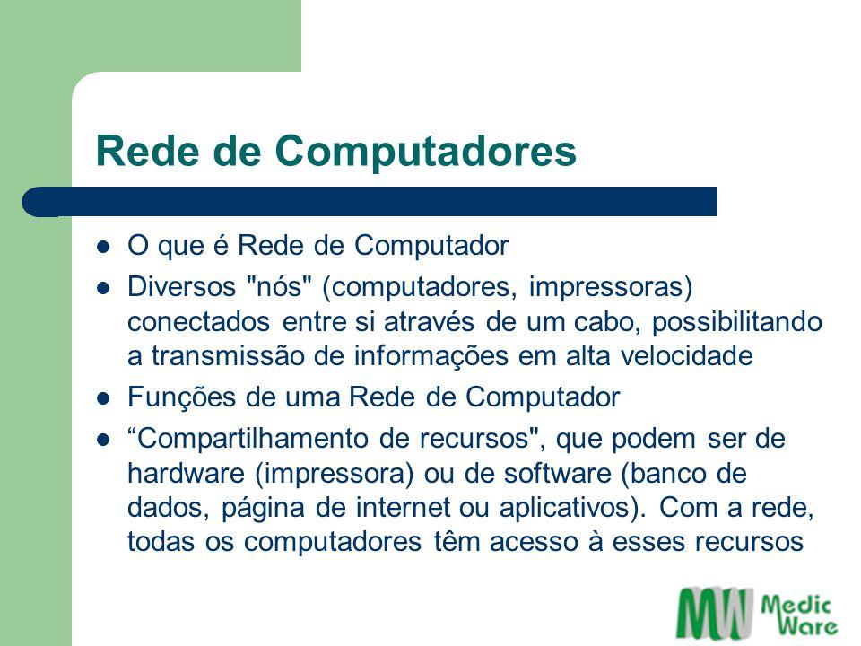 Rede de Computadores O que é Rede de Computador Diversos