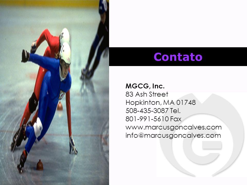 Contato MGCG, Inc. 83 Ash Street Hopkinton, MA 01748 508-435-3087 Tel.