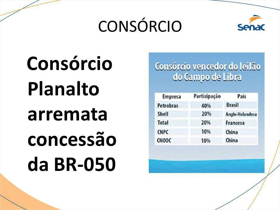 CONSÓRCIO Consórcio Planalto arremata concessão da BR-050