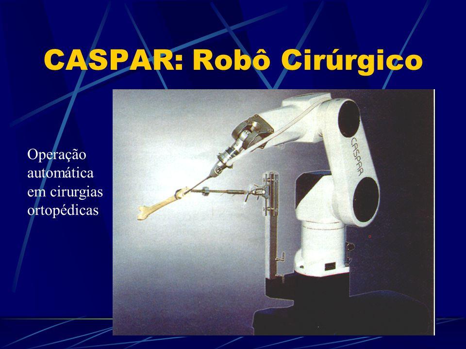 CASPAR: Robô Cirúrgico Operação automática em cirurgias ortopédicas