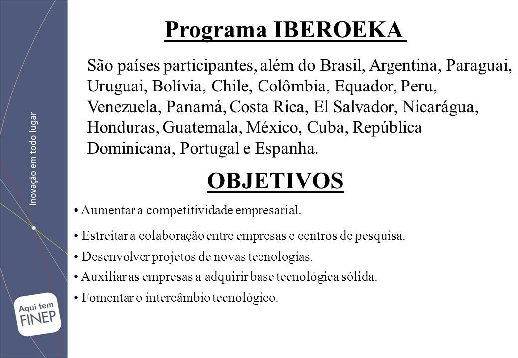 São países participantes, além do Brasil, Argentina, Paraguai, Uruguai, Bolívia, Chile, Colômbia, Equador, Peru, Venezuela, Panamá, Costa Rica, El Salvador, Nicarágua, Honduras, Guatemala, México, Cuba, República Dominicana, Portugal e Espanha.