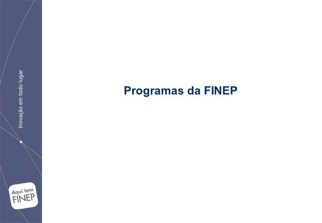 Programas da FINEP