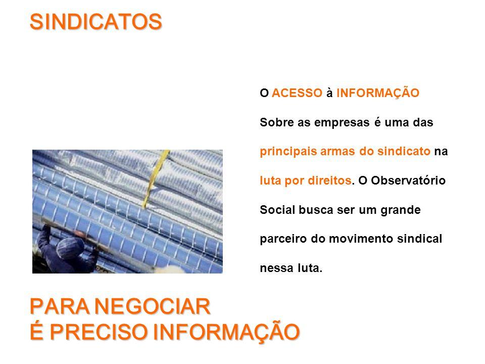 SAÚDE E SEGURANÇA - Há problemas de segurança aos trabalhadores terceirizados que atuam em suas instalações.