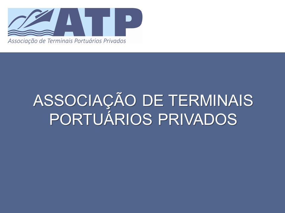MOTIVAÇÃO DA CRIAÇÃO A promulgação da Lei n 0 12.815, de 2013, que eliminou as restrições existentes para a operação de terminais privados deu uma forte sinalização dos investimentos que estão por vir neste segmento.