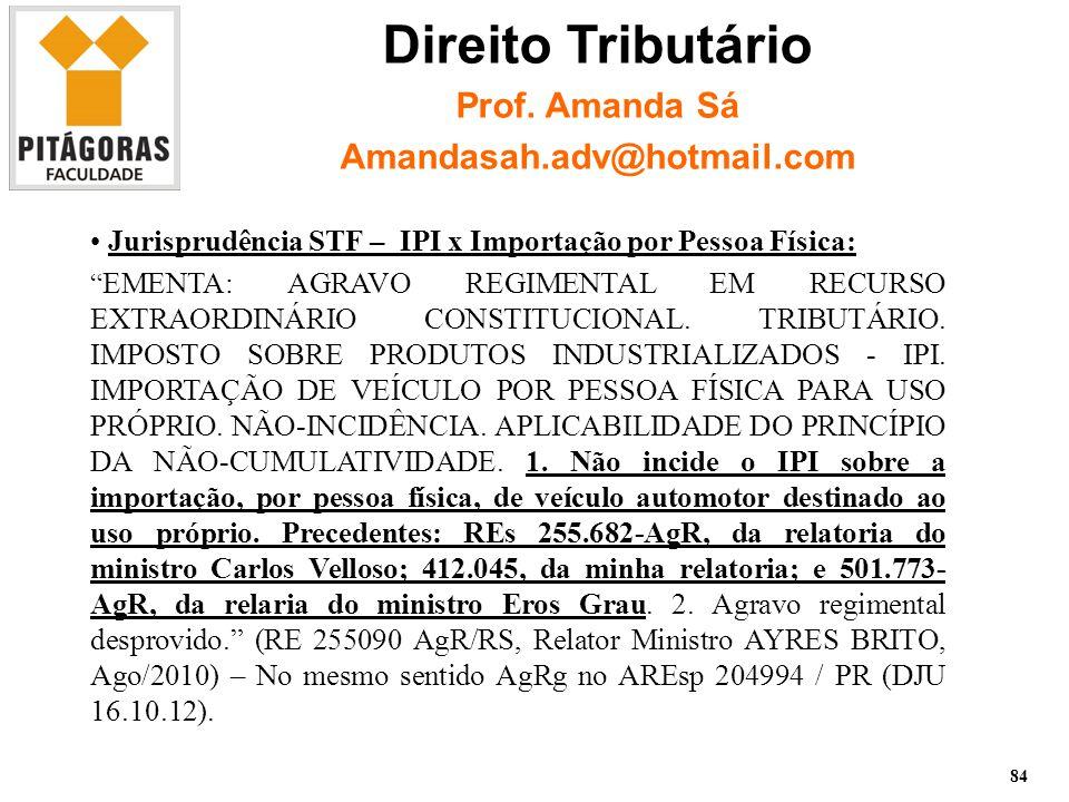 Imposto de Renda Pessoa Física – Prof.
