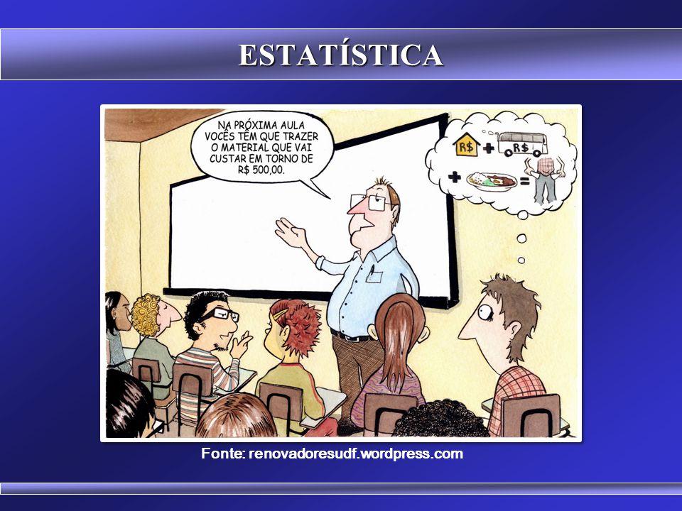 ESTATÍSTICA É um valor típico representativo de um conjunto de dados. Fisicamente representa o ponto de equilíbrio da distribuição. Modos de calcular