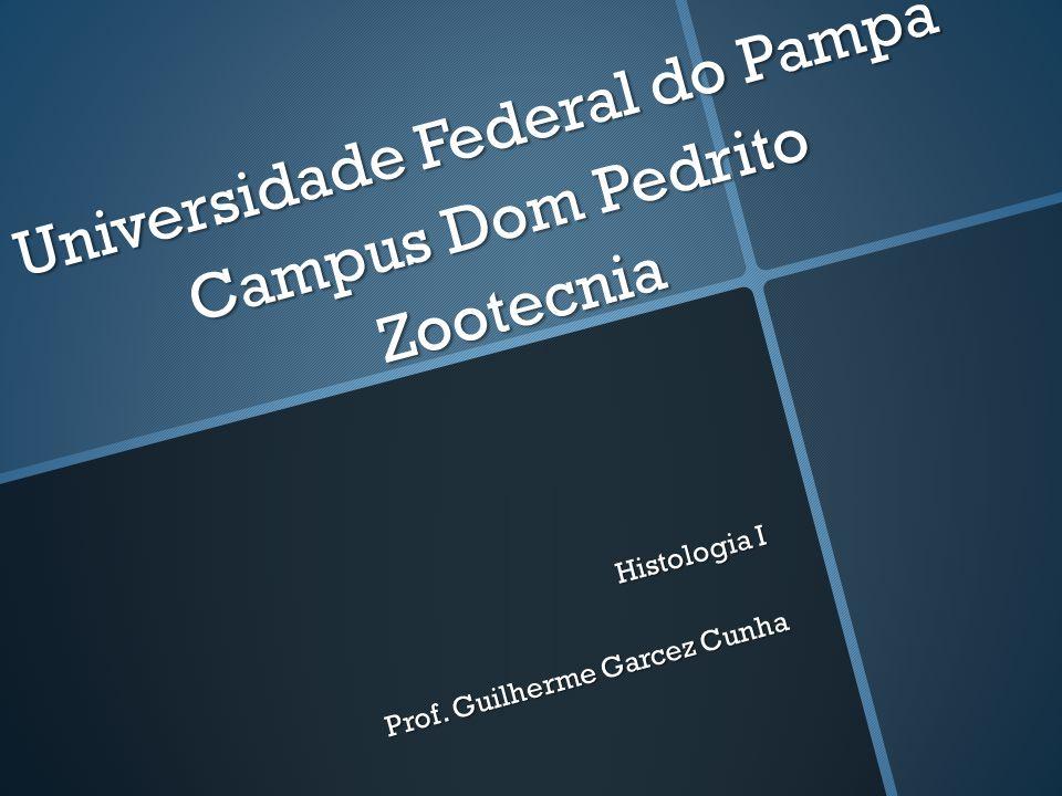 Universidade Federal do Pampa Campus Dom Pedrito Zootecnia Histologia I Prof. Guilherme Garcez Cunha