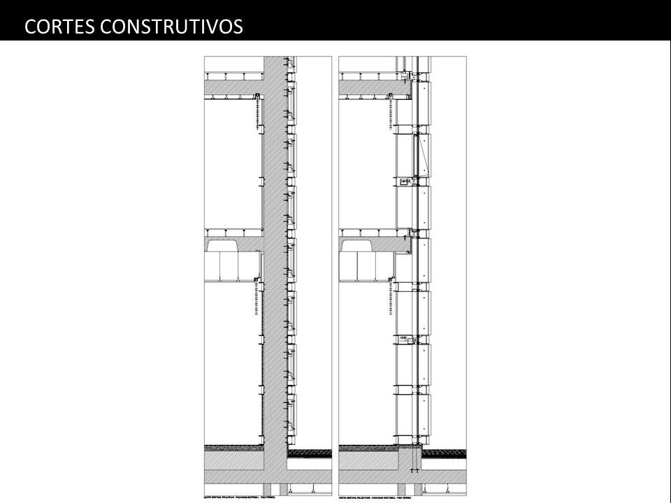 CORTES CONSTRUTIVOS