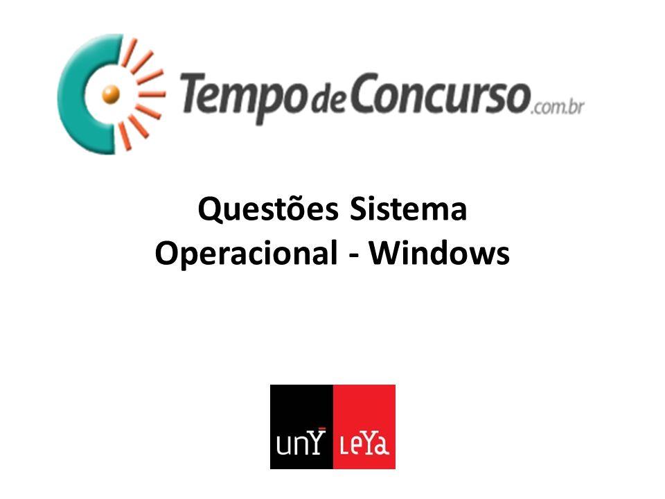 20.(FGV - 2013 - FBN - Assistente Técnico - Administrativo) No sistema operacional Windows 7, a tecla Windows é representada pela imagem a seguir.