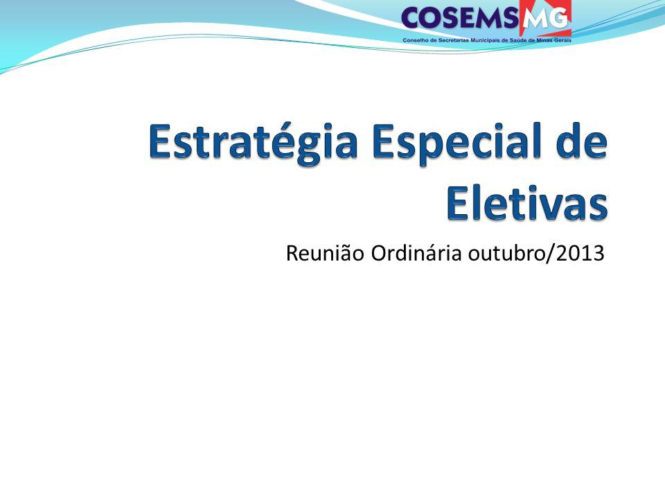 Reunião Ordinária outubro/2013