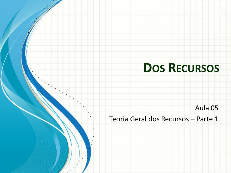 Atos processuais sujeitos a recurso Sentenças Decisões interlocutórias Acórdãos Apelação; embargos de declaração.