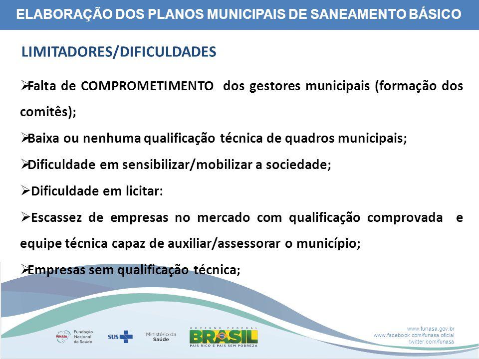 www.funasa.gov.br www.facebook.com/funasa.oficial twitter.com/funasa Antes das ParceriasResultado Esperado Após a Parceria
