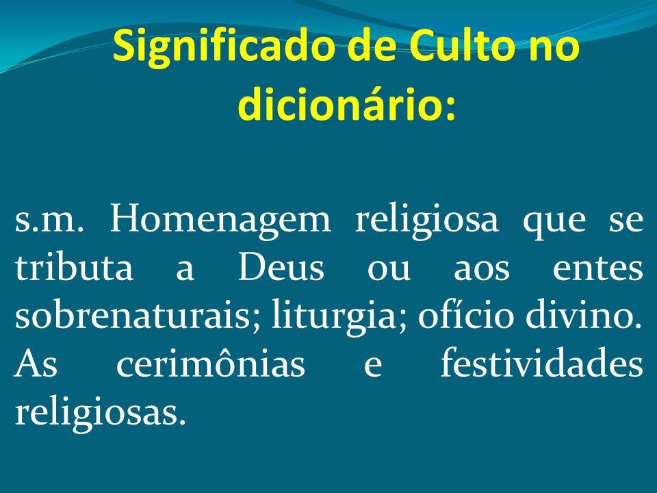 EXEMPLO DE CULTO CRISTÃO ISAÍAS 6.1-8 6.