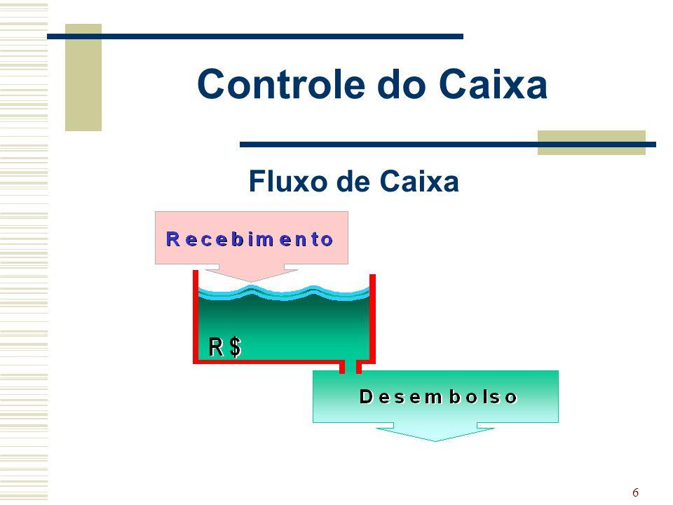 6 Controle do Caixa Fluxo de Caixa