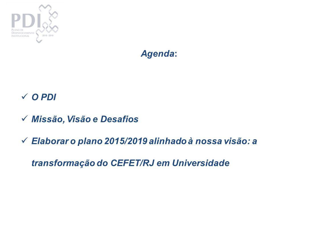 Reunião especial do Projeto O CEFET/RJ que somos e o CEFET/RJ que queremos ser.