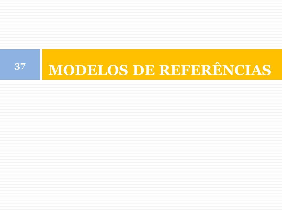 MODELOS DE REFERÊNCIAS 37