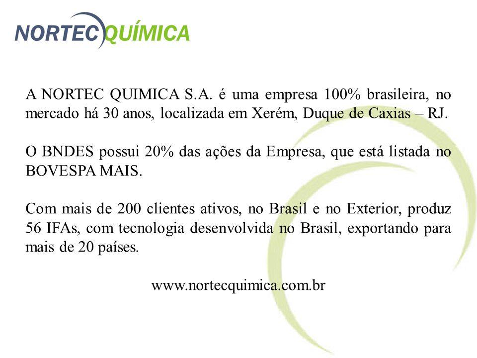 A NORTEC QUIMICA S.A.