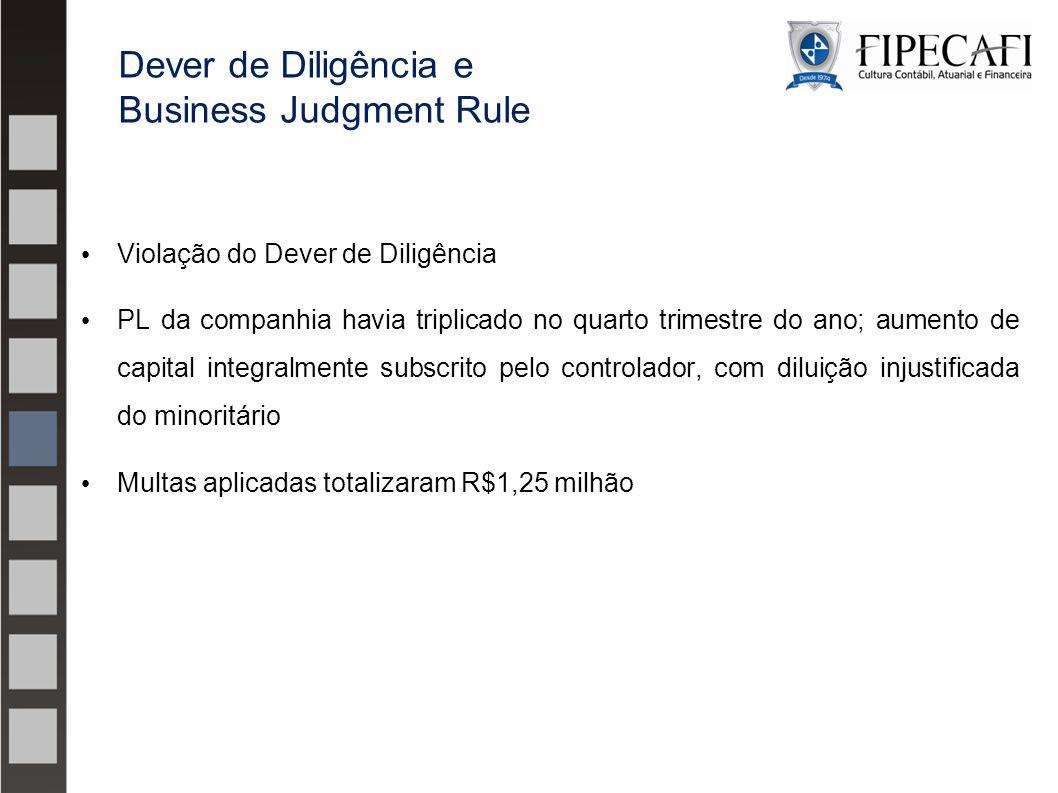Violação do Dever de Diligência PL da companhia havia triplicado no quarto trimestre do ano; aumento de capital integralmente subscrito pelo controlad